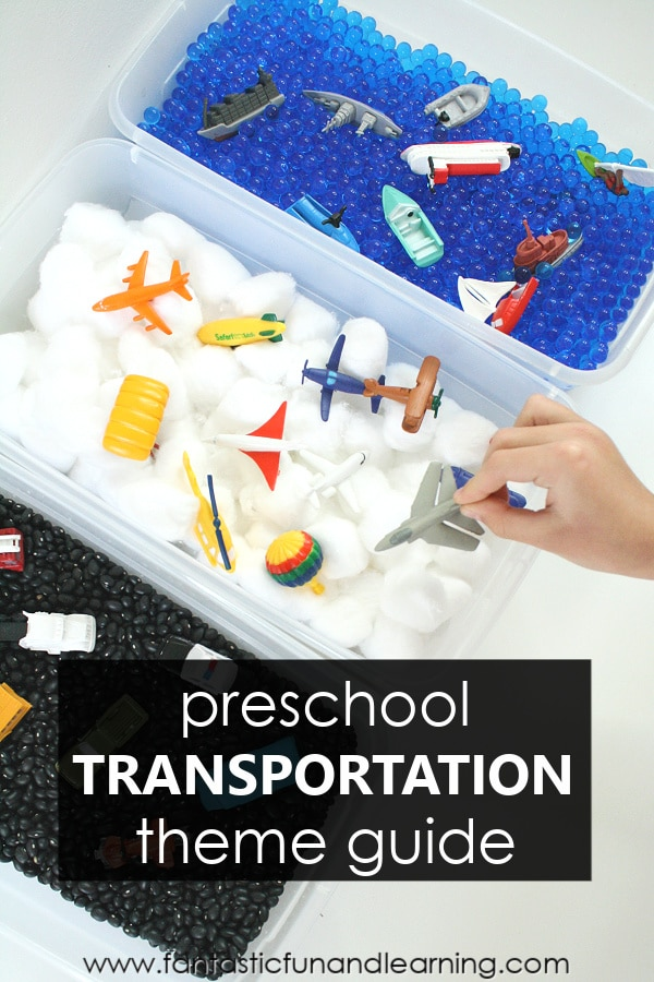 Preschool Transportation Theme Lesson Plans and Activities