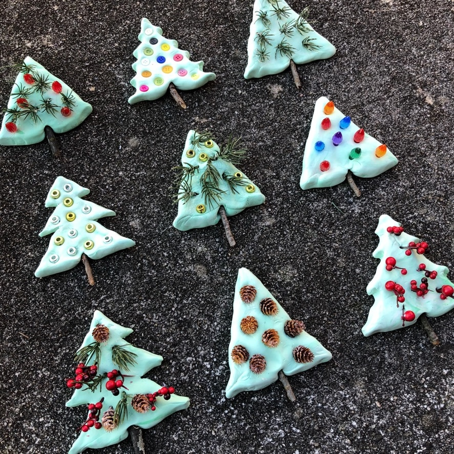 Christmas Tree Art for Preschool