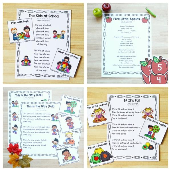 Fall Songs for Preschool