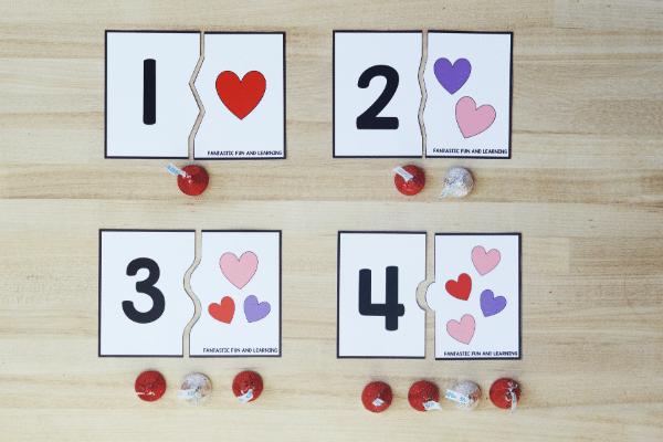Hands-on Valentine_s Day Math for Preschool and Kindergarten
