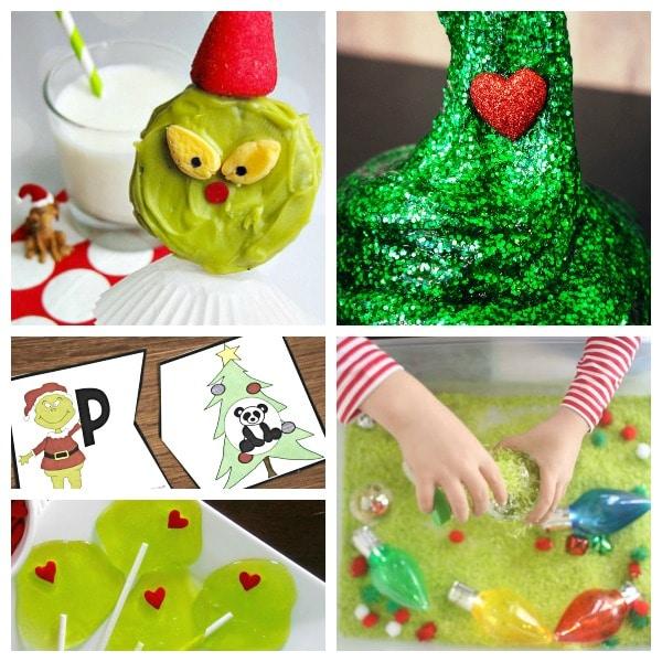New Grinch Activities for Kids