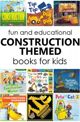 25 Fiction and Nonfiction Construction Books for Preschool and Kindergarten