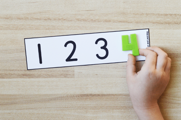 Missing Numbers Math Free Printable