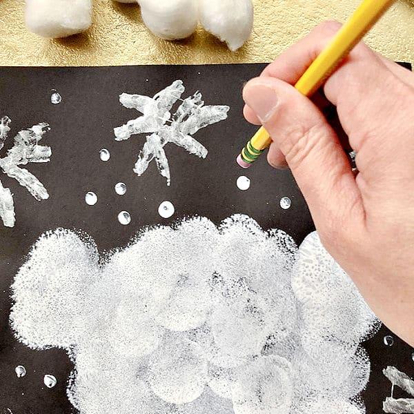 Polar Bear Craft for Kids-Details