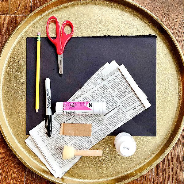 Polar Bear Craft for Kids-Materials