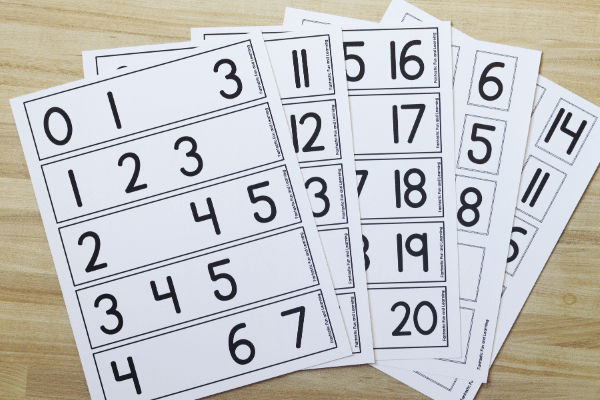 What_s Missing Free Printable Kindergarten Math Activity Preview