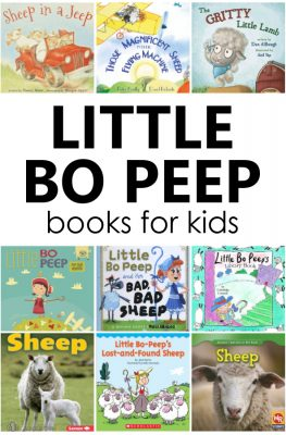 Fiction and nonfiction Little Bo Peep Books for preschool and kindergarten
