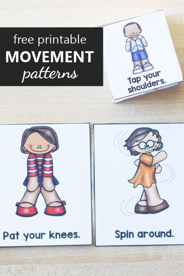 Create Your Own Movement Patterns Free Printable Game