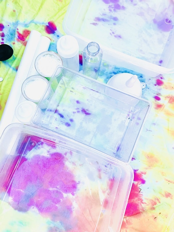 Materials for Oobleck Playtime