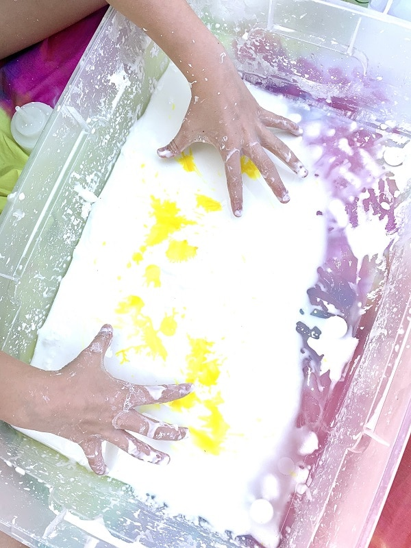 Step 2-Add coloring to oobleck