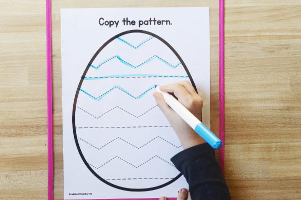 pattern egg mats wide 2