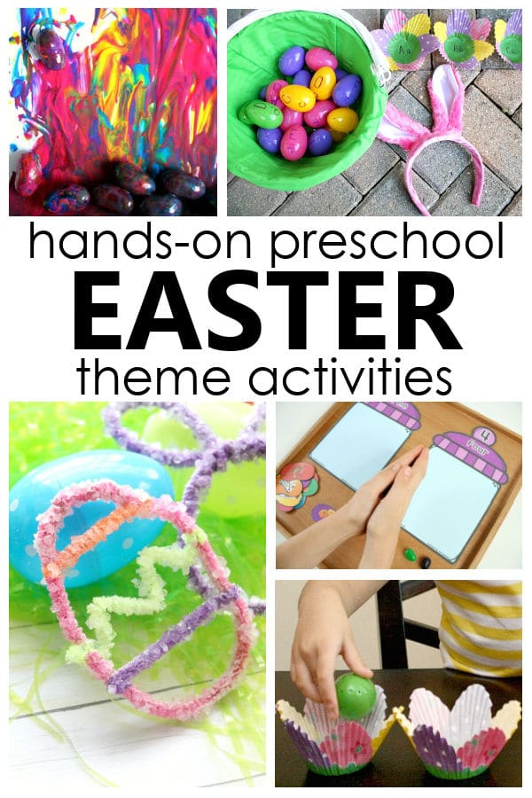 Easter Theme Preschool Activities and Easter Lesson Plans for PreK and K