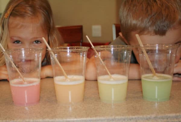 Marshmallow Rainbow Science Experiment for Kids