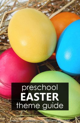 Preschool Easter Theme Planning Guide with Lesson Plans and Easter Preschool Activities