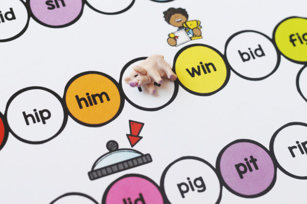 Hands-on CVC activities for preschool and kindergarten