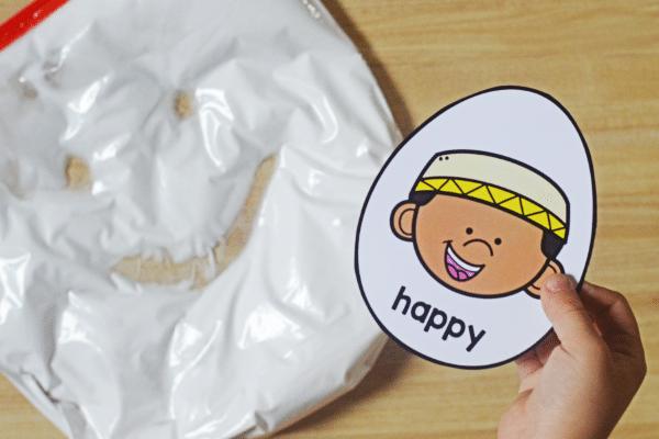 Humpty Dumpty Emotions Sensory Bag
