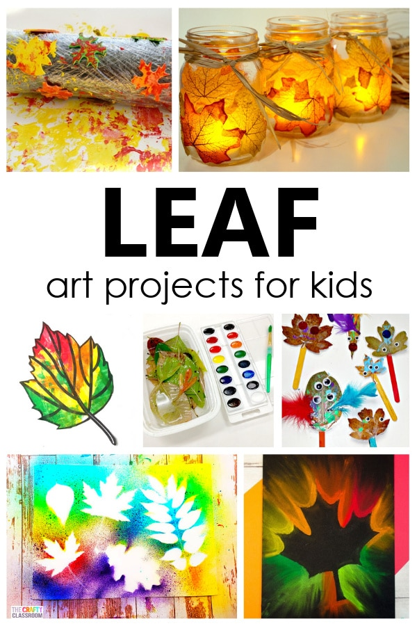 Creative fall leaf art projects for kids. Includes process art ideas and fall leaf crafts that are perfect for preschool and kindergarten.