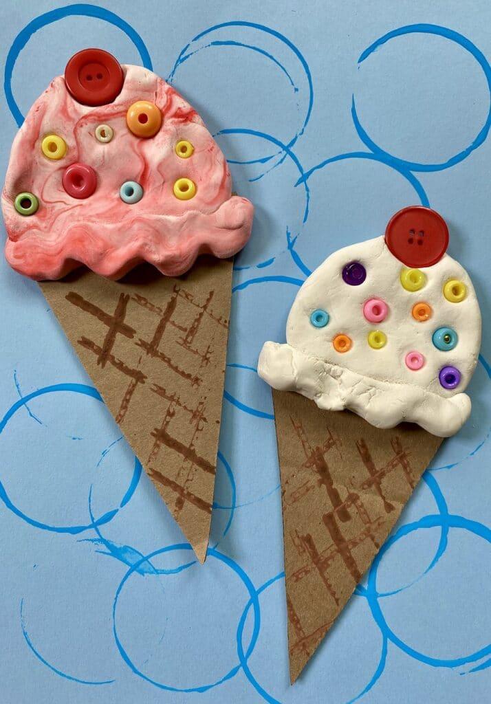 Ice Cream Summer Craft for Kids