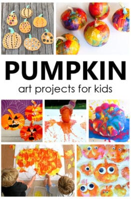 Pumpkin Art Projects for Kids-Fall and Halloween Crafts and Art Projects