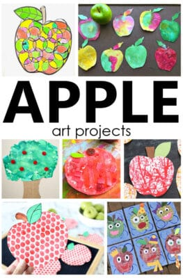 Apple Art Projects for Kids