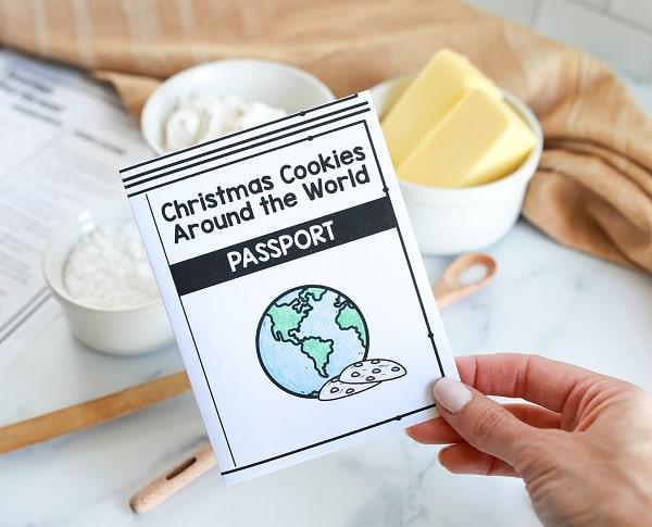 Christmas Around the World Activity-Christmas Cookie Passport