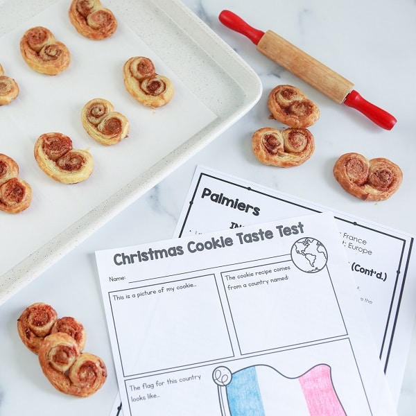 Christmas Cookies Around the World School Project for Kids