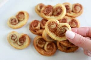 Easy Christmas Cookie Recipe to Bake with Kids-French Palmiers