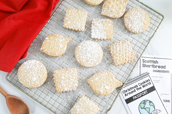 Easy Christmas Cookie Recipe to Bake with Kids-Scottish Shortbread
