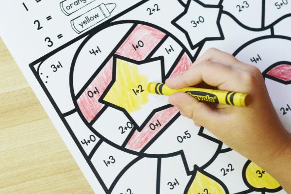 Free printable bithday math worksheets for kindergarten