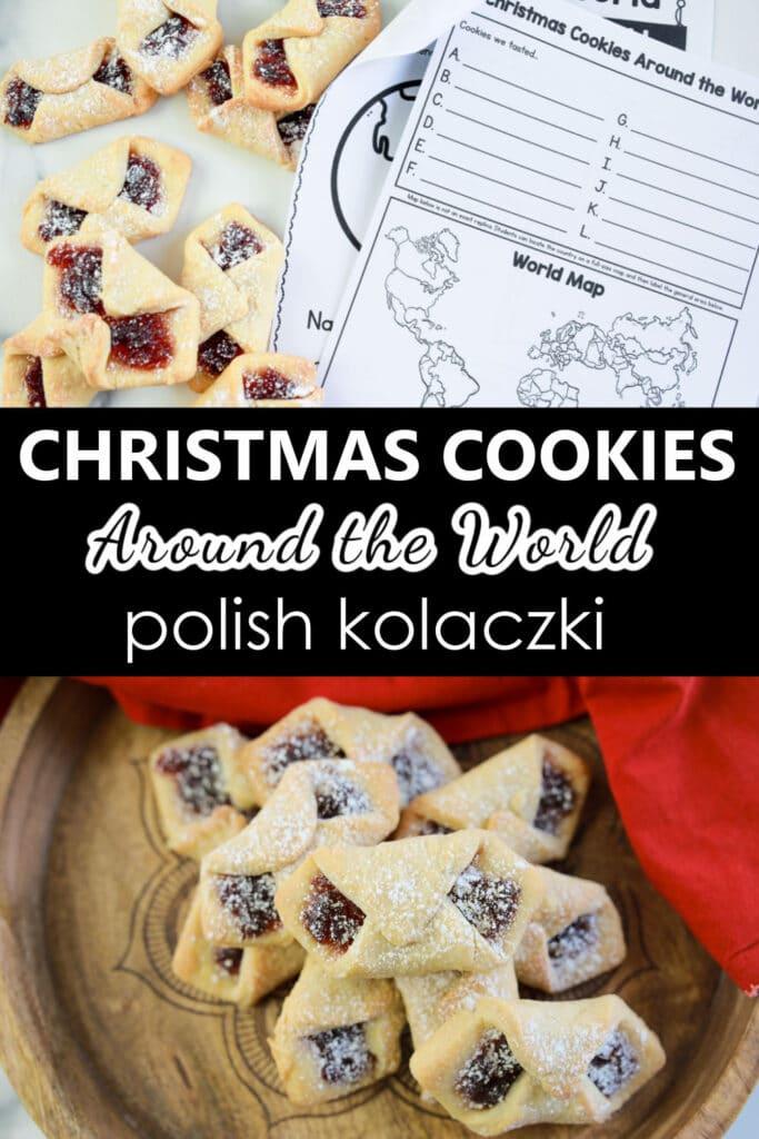 How to Make Polish Kolaczki Cookies Recipe Christmas Around the World Baking with Kids