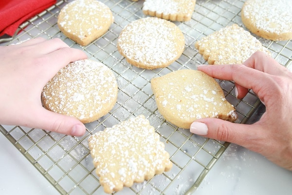 Scottish Shortbread Christmas Cookie Directions and Recipe