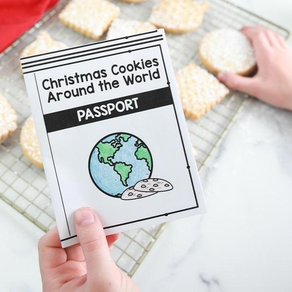 Scottish Shortbread Cookies-Holiday Baking Around the World Christmas Activity