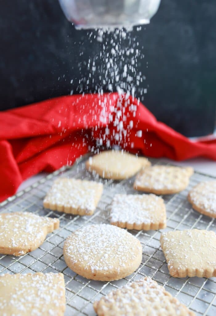 Step 5-How to make Scottish Shortbread-Easy Christmas Cookie Recipe