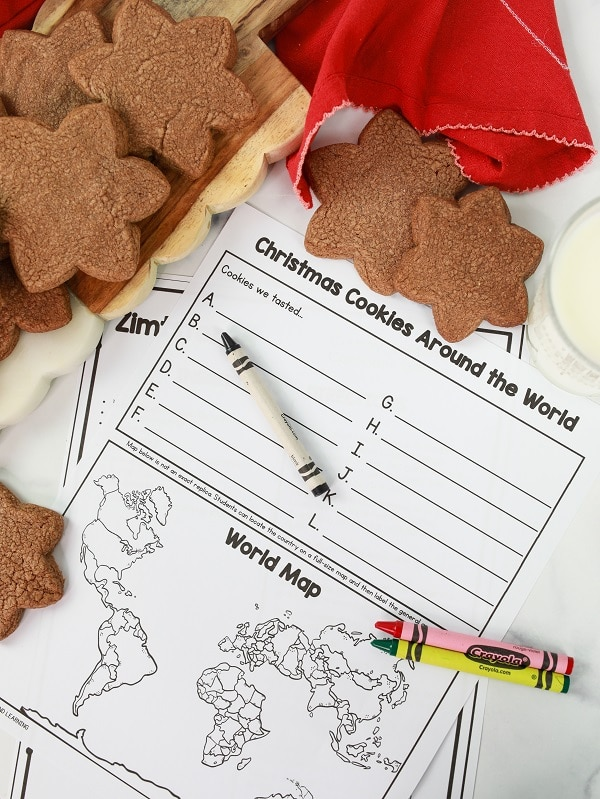 Christmas Around the World Activities for Christmas Around the World Party
