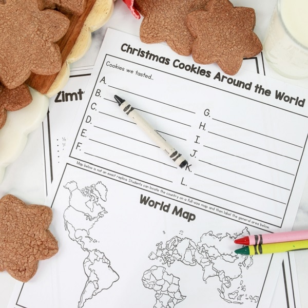 Christmas Cookies Around the World-Zimtsterne Cookie Recipe