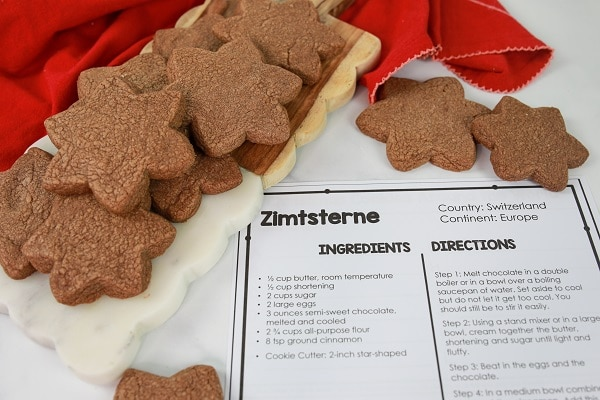 Easy Christmas Cookie Recipe for Baking with Kids-Christmas Traditions-Zimtsterne