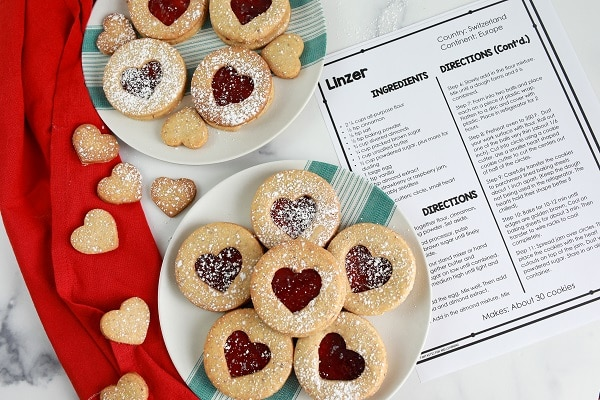 Easy Linzer Christmas Cookie Recipe for Holiday Baking with Kids
