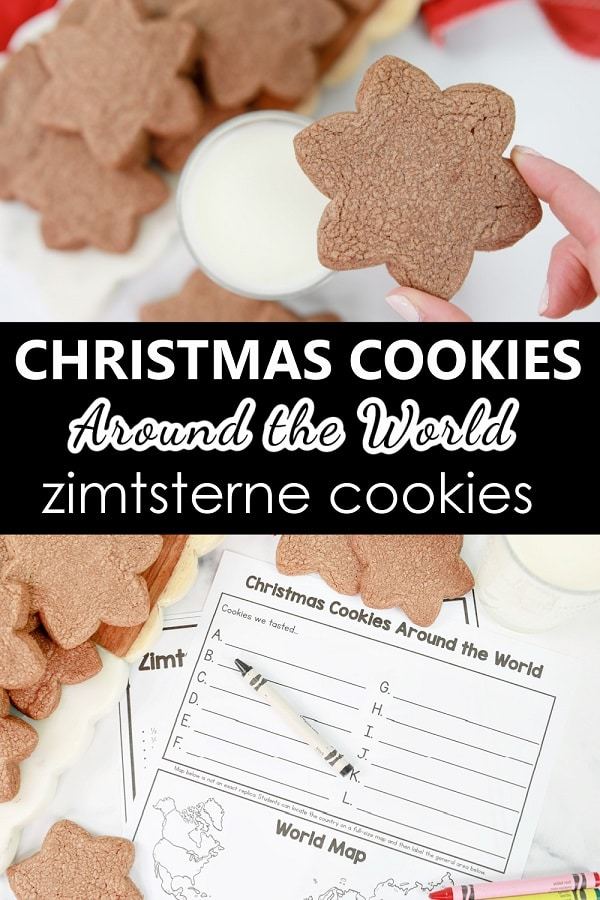 Easy Zimtsterne Cookie Recipe-Baking with Kids-Christmas Cookies Around the World