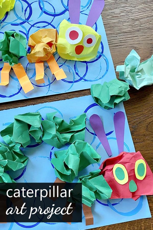 Caterpillar Art Project Craft for Kids