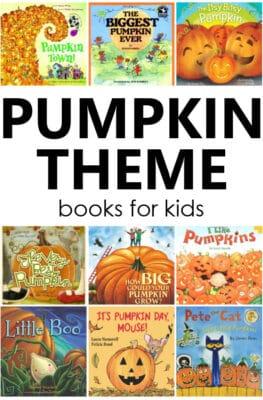 Pumpkin Theme Books for Kids